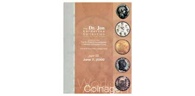 Лот №391,  1989 года. Ira & Larry Goldberg Coins &Collectibles, Beverly Hills.. The Dr. Jon Kardatzke Collection Featuring United States Coinage, part II. The Dr. Robert Hesselgesser Collection of Russian Coins & The Dr. Jon Kardatzke Collection of Ancient and Worl