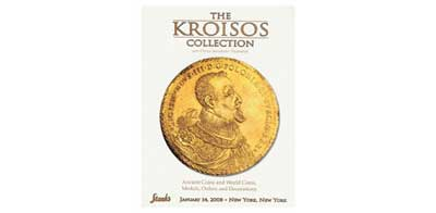 Лот №400,  1989 года. Stack's, New York. The Kroisos Collection, also an Important Collection of Russian Orders & Decorations. The Val Sklarov Collection of Russian Historical Medals in Gold, Platinum and Silver.. 14 January 2008 in New York. 492 стр..